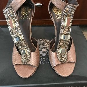 Vince Camuto high heel sandals